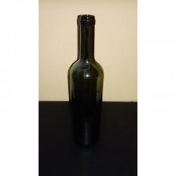 Borosüveg, olivazöld színű, 0,75l