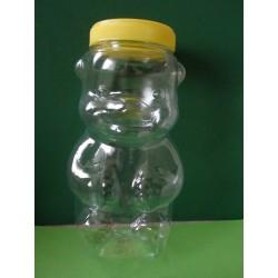 Mézes maci csavaros kupakkal, PET 1000g