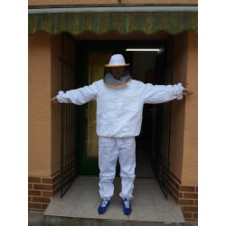 Méhészoveráll levehető kalappal