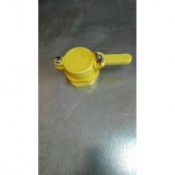PVC csap 40mm-es Sárga