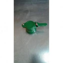 PVC csap 40mm-es zöld