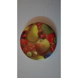 TO48 gyümölcs mintás tető,lapka