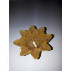 Lótuszvirág méhviasz gyertya