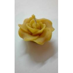 Rózsa 4,5 cm méhviasz gyertya