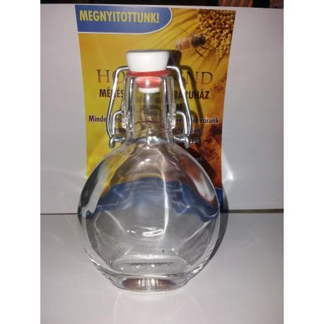 Díszüveg Flaska 0,2L csatos zárással