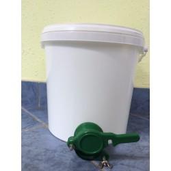 10 literes vödör műanyag letöltő csappal