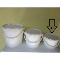 Műanyag vödör 3L